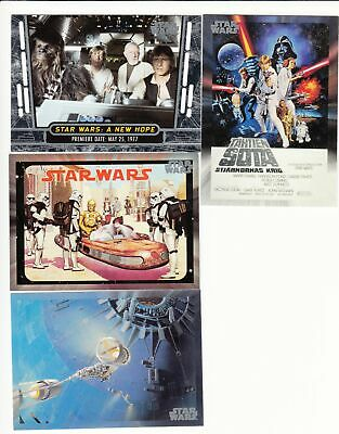 2017 Star Wars 40th Anniversary Complete Base Set (200 Cards)