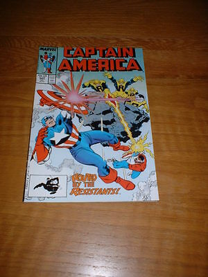 Captain America 343. Nm Cond. July 1988.                                     **2