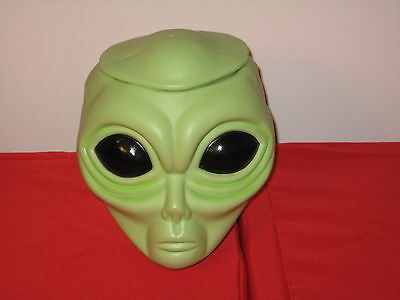 Vintage ALIEN POPS Candy Store COUNTER DISPLAY ROSWELL UFO HEAD with lid