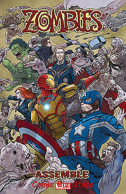 Zombies Assemble  #1 (Of 4) (2017) 1St Printing Bagged & Boarded Marvel