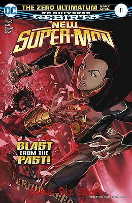 New Super Man #11 (2017) 1St Printing Bagged & Boarded Dc Universe Rebirth