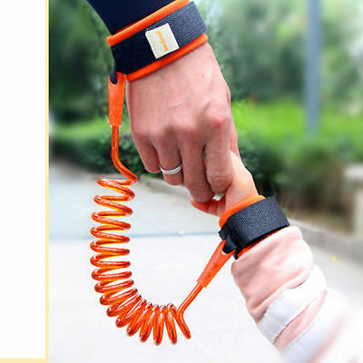 UK Kid Baby Safety Anti-lost Strap Link Harness Child Wrist Band Belt 2 METER