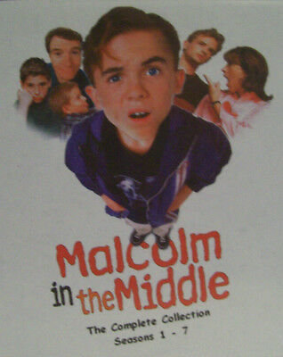 Malcolm in the middle: Complete TV Sitcom 22 DVD 7 season set (US & CA R1)