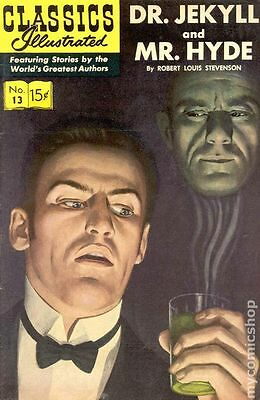 Classics Illustrated 013 Dr. Jekyll and Mr. Hyde (1943) #12 VF- 7.5