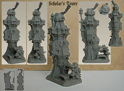 Scholar's Tower Wargame Scenery (10mm scale)