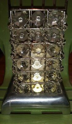Silver And Crystal Pillar Candle Holder With New Pier One Imports