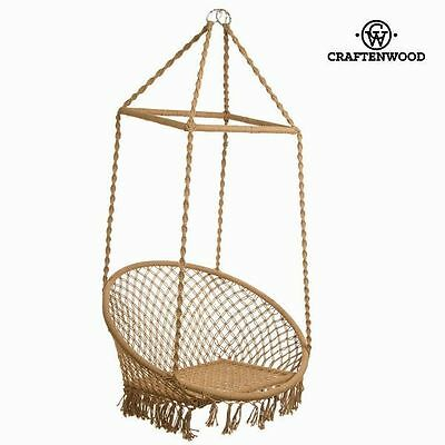 Queens Hanging Hammock - Brown Bed Swing Seat - Relax Chair Sofa Air Furniture