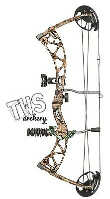 2017 Martin 0-70lb Carbon Chameleon Compound Bow Package youth teen adult