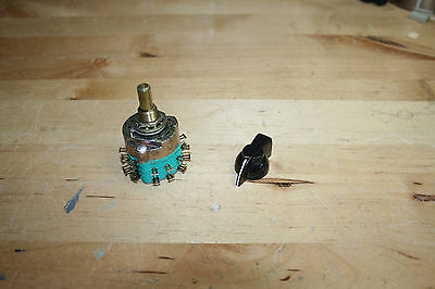 Electroswitch C4D0212N-A 2-Pole 12 Position Switch with Knob