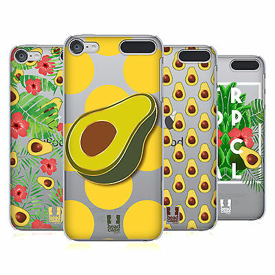 HEAD CASE DESIGNS AVOCADO PRINTS HARD BACK CASE FOR APPLE iPOD TOUCH MP3