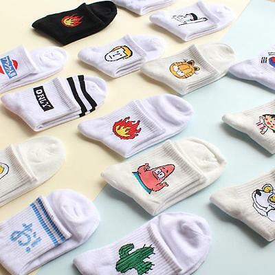 1Pair Fashion Harajuku Lover Women Men Casual Cute Cartoon Warm Hosiery Socks JJ