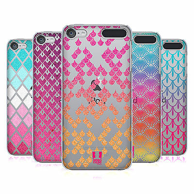 HEAD CASE DESIGNS COLOURFUL SCALES HARD BACK CASE FOR APPLE iPOD TOUCH MP3