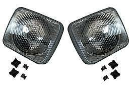Land Rover Discovery 1 200Tdi 1989>94  Front Headlights Lamps (2)-Stc765/6