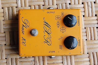 MXR Phase 100 original orange Vintage Script Model