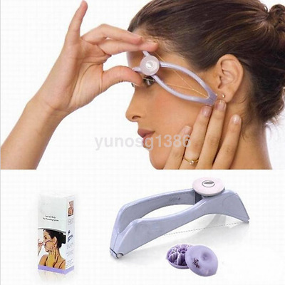 Women's Facial Body Hair Threading Threader Removal Epilator System Makeup Tool