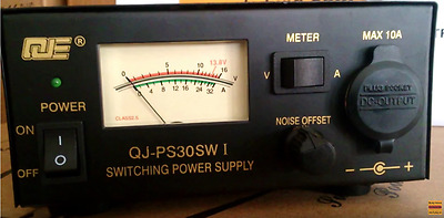 QJE PS30SWI 30 AMP Peak Switch Mode Power Supply