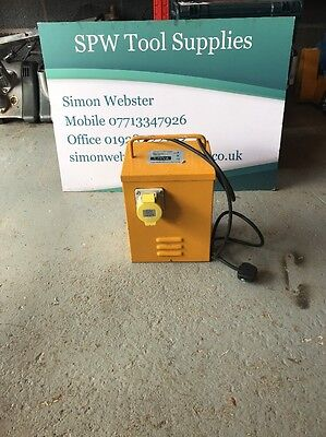 1 Outlet heater Transformer 3KVA Continuous  110V 32A Steel Case