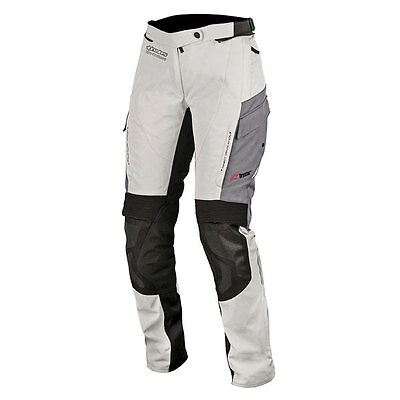 Alpinestars Andes Drystar V2 Grey Moto Motorcycle Motorbike Trouser | All Sizes