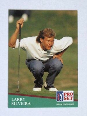 Pro Set 1991 Pga Tour Golf Card # 99. Larry Silveira