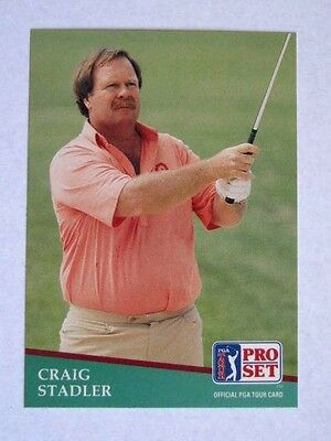 Pro Set 1991 Pga Tour Golf Card # 174. Craig Stadler