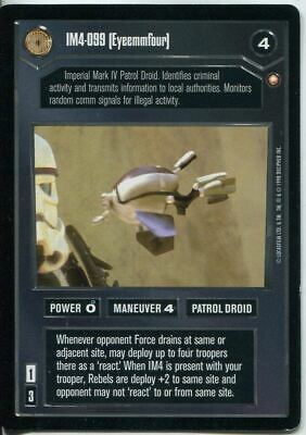 Star Wars CCG Special Edition IM4-099