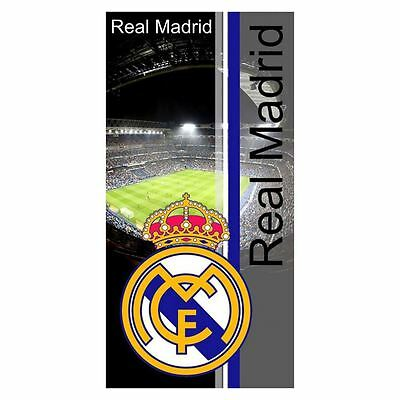 Real Madrid Cf Santiago Bernabeu Stadium Towel Beach Bath Cotton Free P+P