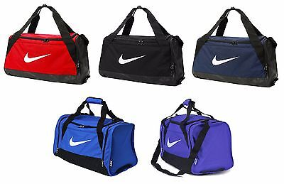 1d8f3222072 Nike Brasilia Small Training Duffel Bag BA5335 Gym Sports Shoulder 6 Colors