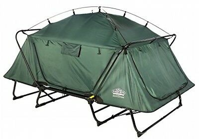 Kamp-Rite Collapsible Easy Pitch Double Tent Cot Camping Shelter Hiking Outdoor