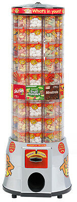 Tubz Sweet Tower vending Machine Refurbished Accepts NEW £1 Coin!