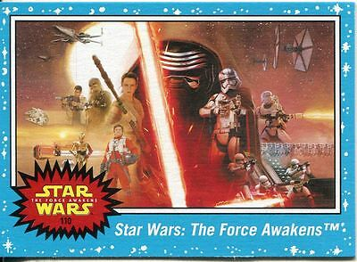 Star Wars Journey To The Force Awakens Complete 110 Card Base Set