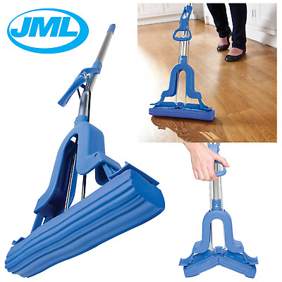 JML Super Mop Pro Ultra Absorbing Drying Sponge Telescopic Handle Floor Cleaning
