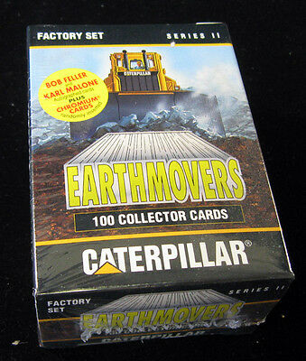 1994 Caterpillar Earthmovers Series 2 Factory Set (100) Nm/Mt