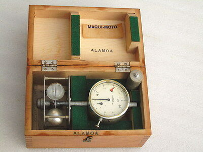 Vintage Cup Anemometer 16D Veb Anemometerbau Dresden W/ Switch Clock Nautical