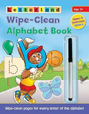 Wipe Clean Alphabet Book (Letterland) (Letterland Wipe Clean Books) by Lisa Holt