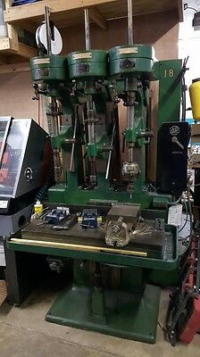 Gun Smithing drill press from the Savage Arms Corp.