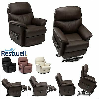 RESTWELL DUAL MOTOR riser recliner chair rise and recline