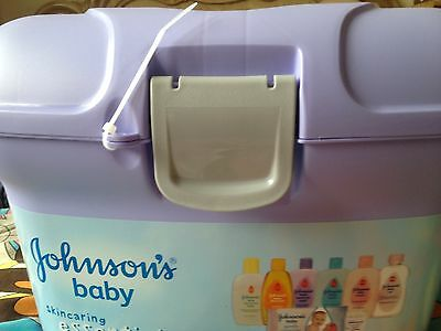 *BRAND NEW* Johnsons Baby Skincare Essentials Travel Changing Box Gifts Shower