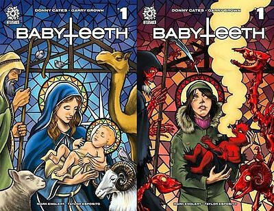 Babyteeth 1 Aftershock NM Mike Rooth Good Evil Lenticular Variant Donny Cates