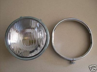 Vespa Head light lamp headlight VBC Super with Bezel V8140