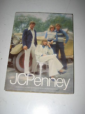 Vintage JC Penny Summer and Spring Catalog 1976