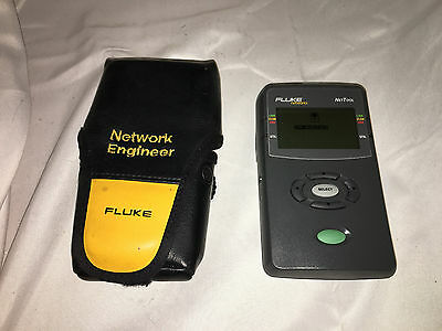 Fluke Networks NetTool 10/100 Network Connectivity Net Tool with Case!