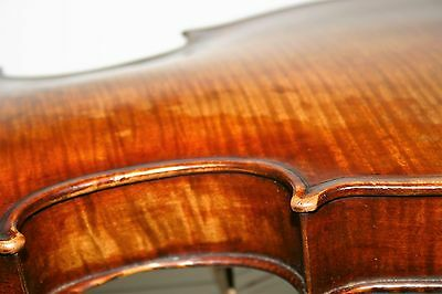 old antique 4/4 ITALIAN? violin GUADAGNINI label excl PLAYING cond GRAFTED NECK
