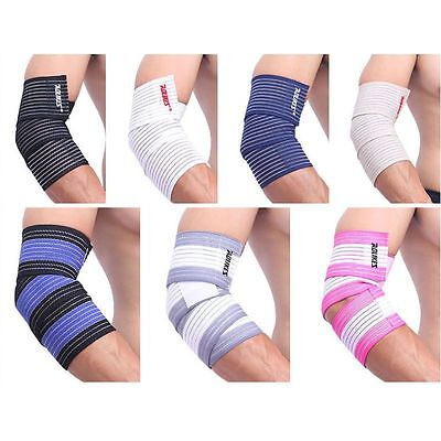 Adjustable Wrist/Knee/Hand/Thigh/Elbow Support Brace Arm Pad Guard Bandage Wrap