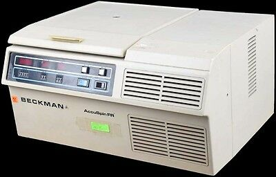 Beckman AccuSpin FR 4500rpm Refrigerated Centrifuge w/1-94 Swing Bucket Rotor
