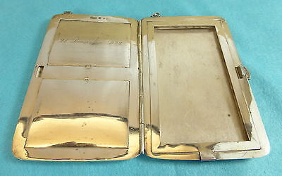 Large & Heavy Early 20Th Century China Chinese Wang Hing Export Silver Case