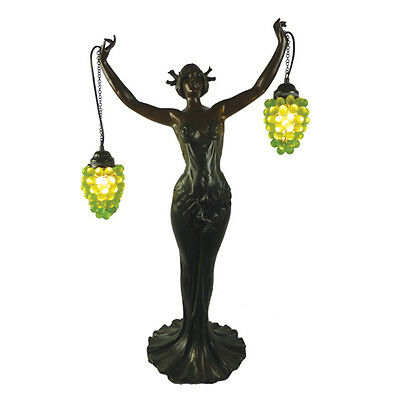 Chardonnay Grape Lady Table Lamp Light  - Will Ship Australia Wide