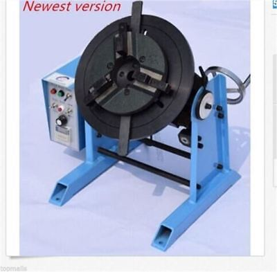 220V Turntable Timing With 200Mm Chuck Machine 50Kg Duty Welding Positioner hg