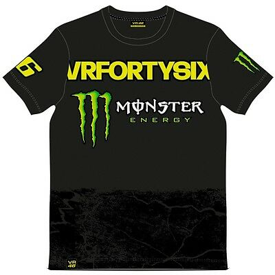 VR46 Official Valentino Rossi Yellow Monster T'Shirt - MOMTS 275404
