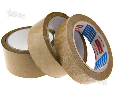 Rolls of 24/38/50mm 50m length Brown Self-Adhesive Picture Frame Backing Tape