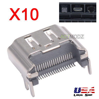 10PCS Brand New! SMD HDMI Port Connector Socket for TV PlayStation 4 PS4